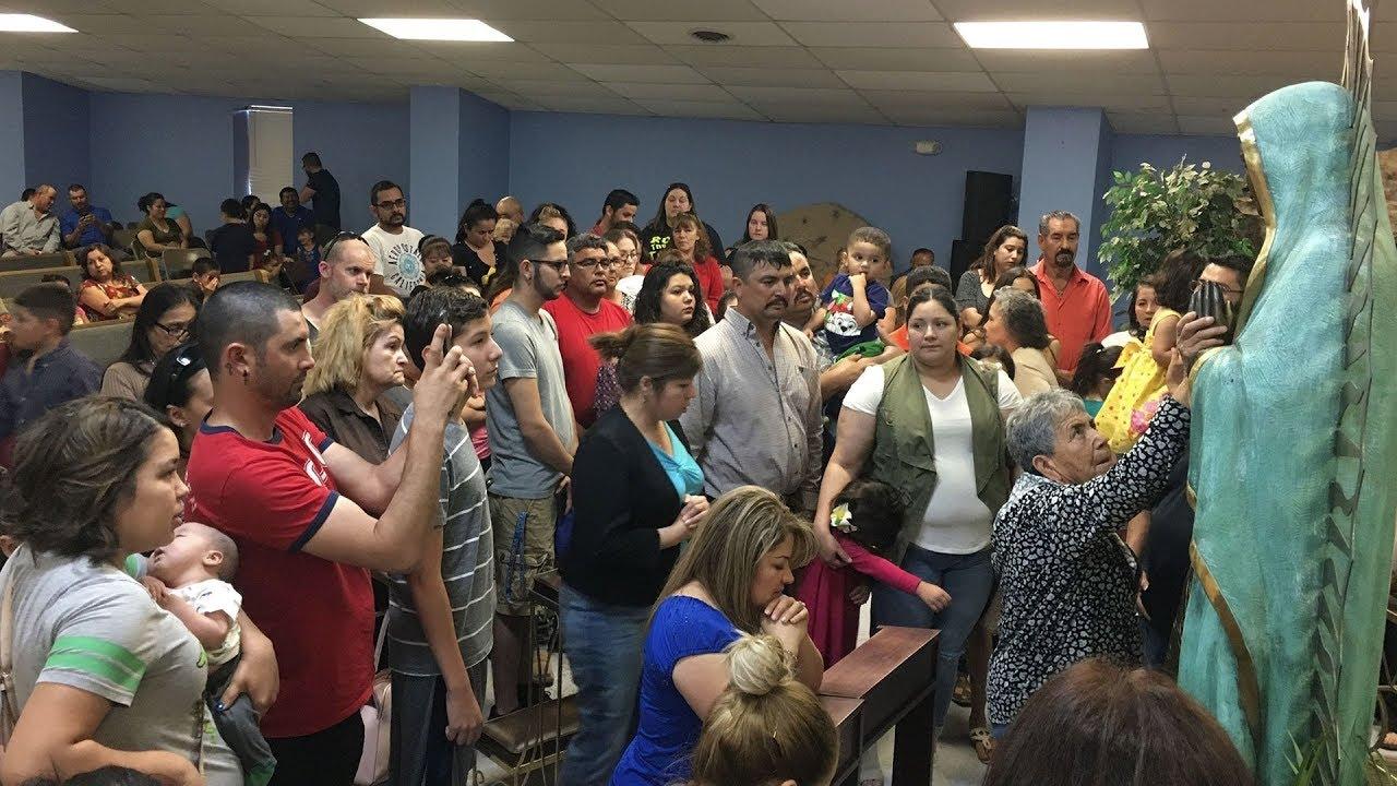 Tượng Đức Mẹ tiếp tục chảy nước mắt ở New Mexico
