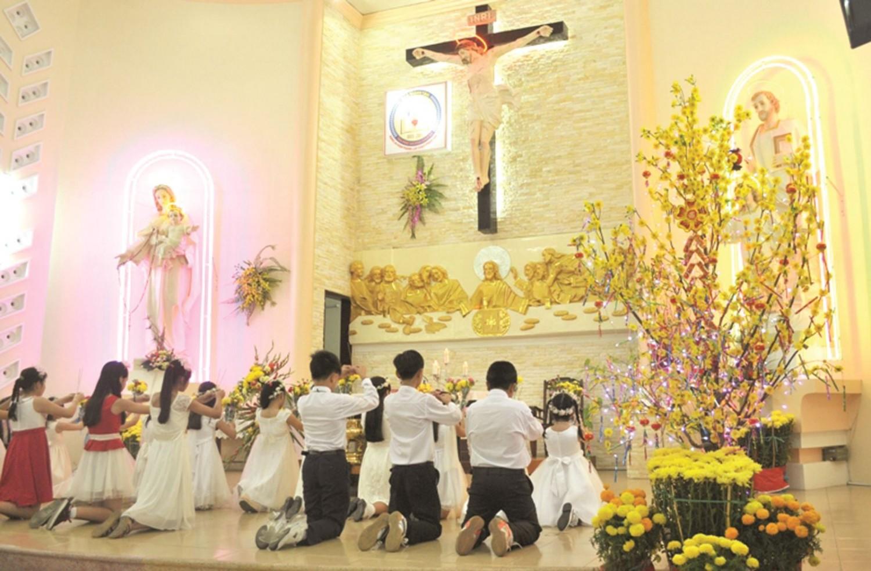 Nét văn hóa đặc trưng của người Công giáo trong Tết Nguyên Đán